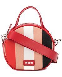 MSGM - Small Round Shoulder Bag - Lyst