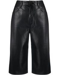 Nanushka Nampeyo Cropped Trousers - Black