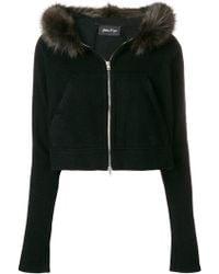 Andrea Ya'aqov - Cropped Hooded Jacket - Lyst