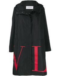 Valentino Парка С Логотипом Vltn - Черный