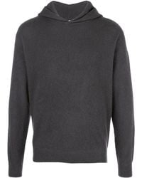 Massimo Alba - Textured Style Hoodie - Lyst