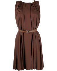 Fabiana Filippi - Vestido tubo plisado - Lyst