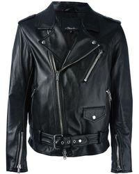 3.1 Phillip Lim Байкерская Куртка Moto - Черный