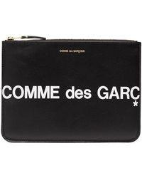 Comme des Garçons Клатч С Логотипом - Черный