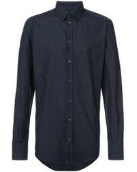 Dolce & Gabbana - Polka Dot Patterned Shirt - Lyst