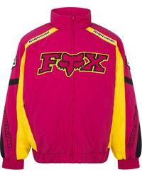 Supreme X Fox Racing Jacke - Pink