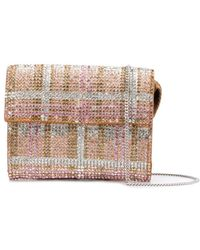 Marco De Vincenzo Crystal Embellished Purse - Metallic