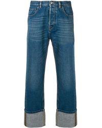 Valentino Wide-leg Jeans - Blue