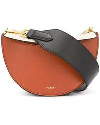 Yuzefi Doris Chain Strap Bag - Brown