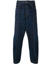 Prada Cropped Jeans - Blauw