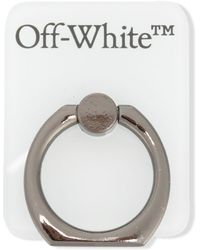 Off-White c/o Virgil Abloh Попсокет С Логотипом - Белый