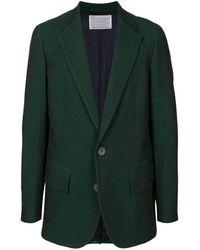 Kolor オーバーサイズ ジャケット - グリーン