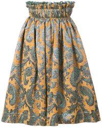 Jourden - Elasticated Waist Skirt - Lyst