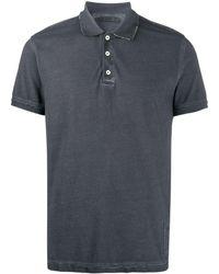Zadig & Voltaire Trot Piqué Polo Shirt - Grey