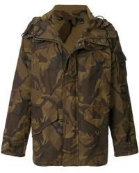 C P Company - Camouflage Print Jacket - Lyst