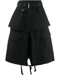 Plan C Aライン スカート - ブラック