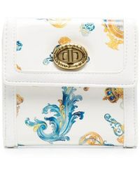 Versace Jeans Couture バロッコ 財布 - ホワイト