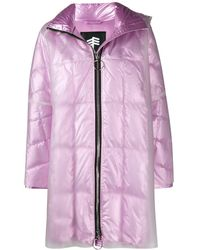 Ienki Ienki Pyramid Double-layered Raincoat - Pink
