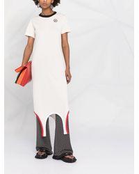 Marni - Платье-футболка С Контрастной Отделкой - Lyst