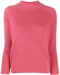 Calvin Klein リブニット セーター - ピンク
