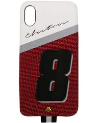 Chaos Electric 8 Iphone X Case - Red