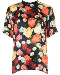 Mother Of Pearl - Tulip-print T-shirt - Lyst