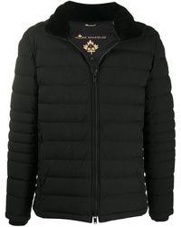 Moose Knuckles キルティング パデッドジャケット - ブラック