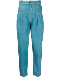 Marc Jacobs Джинсы Со Складками - Синий