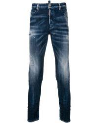 DSquared² Dan Skinny Jeans - Blauw