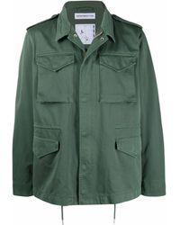 Department 5 カーゴポケット ジャケット - グリーン