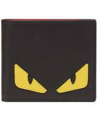 Fendi Cartera con apliques Bag Bugs - Negro