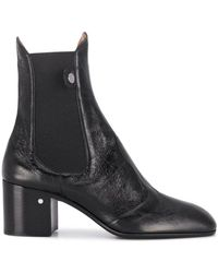 Laurence Dacade Low Heel Ankle Boots - Black
