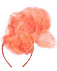 Gigi Burris Millinery Fleur Oversized Headband - Pink
