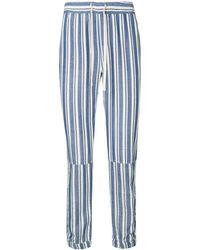 lemlem Abel Drawstring Trousers - ブルー