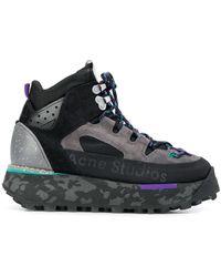 Acne Studios High-top Sneakers - Zwart