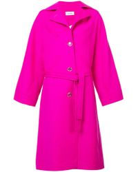 Courreges - Oversized Trench Coat - Lyst