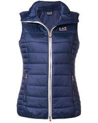 EA7 - Train Core Lady Vest - Lyst
