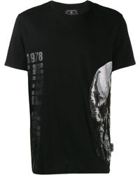 Philipp Plein - ラインストーンスカル Tシャツ - Lyst