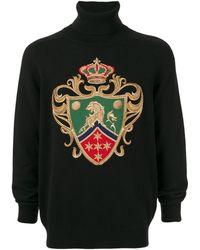 Dolce & Gabbana Kasjmier Coltrui - Zwart