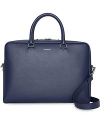 Burberry - Attaché-case en cuir London - Lyst