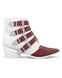Toga Aj006 Boots - White