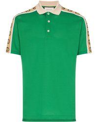 Gucci - GG Stripe Polo Shirt - Lyst