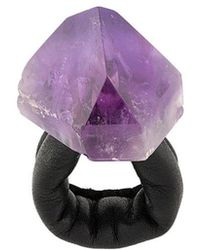 Monies - Oversized Embellished Ring - Lyst