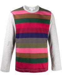 Comme des Garçons - ストライプ ロングtシャツ - Lyst
