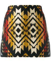 Jessie Western Minigonna con ricamo - Multicolore