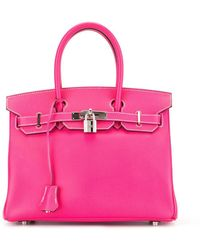 Hermès Borsa tote Birkin 30 2011 - Rosa