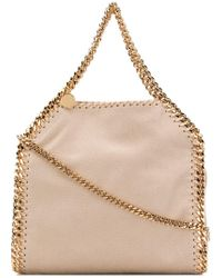 efb9bbc30c Stella McCartney Mini Bella Shoulder Bag in Black - Lyst