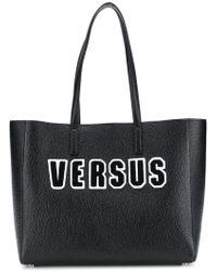 Versus - Logo Patch Tote Bag - Lyst