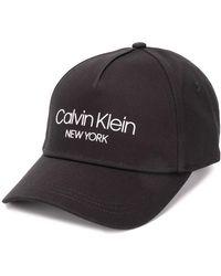 Calvin Klein ロゴ キャップ - ブラック