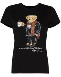 Polo Ralph Lauren Polo Bear Tシャツ - ブラック